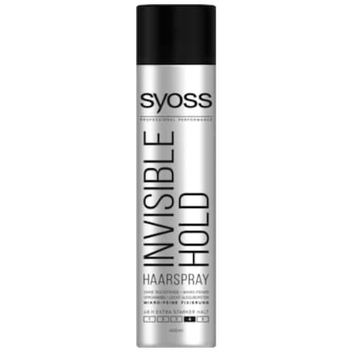 syoss Haarspray Invisible Hold extra starker Halt 400 ml