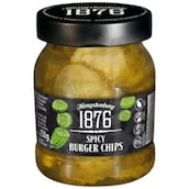 Hengstenberg 1876 Spicy Burger Chips 140 g