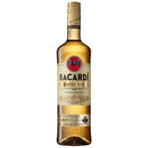 BACARDÍ Carta Oro 37,5 % vol. 0,7 l