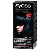syoss Salonplex Permanente Coloration 1-4 Blauschwarz 115 ml