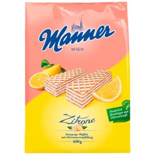 Manner Zitronencreme Schnitten 400 g