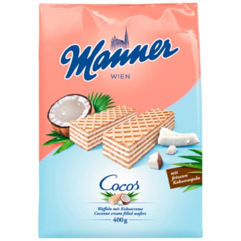 Manner Cocos Schnitten 400 g