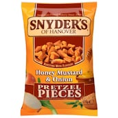Snyders of Hanover Honey Mustard&Onion Pretzel Snack 125 g