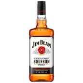 Jim Beam Kentucky Straight Bourbon Whiskey 40 % vol. 1 l