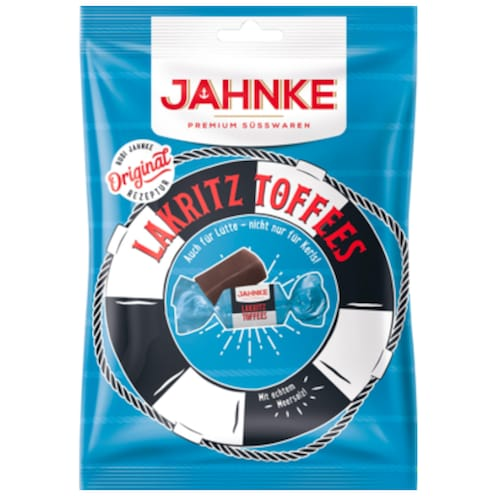 JAHNKE Lakritz Toffees 125 g