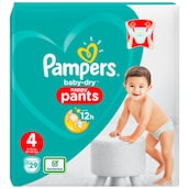 Pampers Baby Dry Maxi Pants Gr.4 9-15kg 29 Stück
