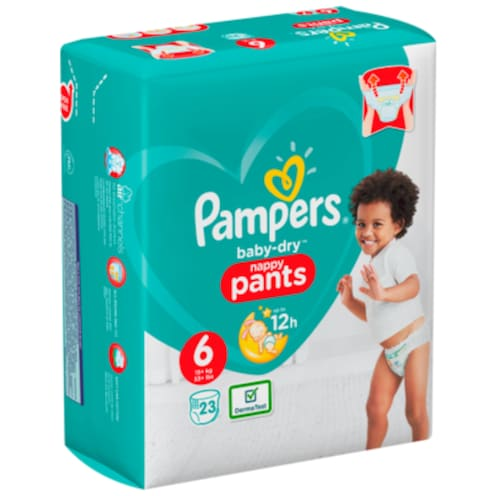 Pampers Baby Dry Extra Large Pants Gr.6 15+kg 23 Stück