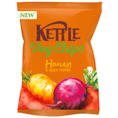 Kettle Chips Veg Chips Honey & Black Pepper 100 g