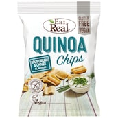 Eat Real Quinoa Chips Sour Cream & Chives 80 g
