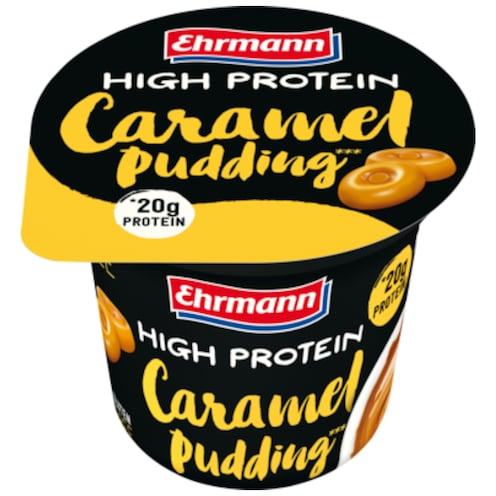 Ehrmann High Protein Caramel Pudding 200 g