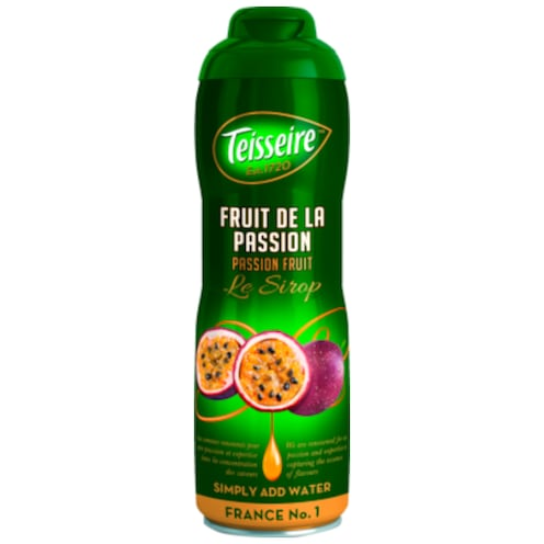 TEISSEIRE Le Sirop Passion Fruit 600 ml