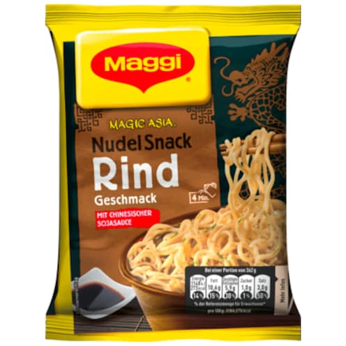 Maggi Magic Asia Nudel Snack Rind Geschmack 62 g