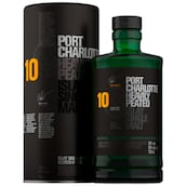 BRUICHLADDICH Port Charlotte Heavily Peated Islay Single Malt 10 Jahre 50 % vol. 0,7 l