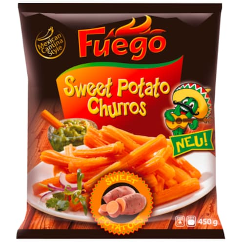 Fuego Sweet Potato Churros 450 g