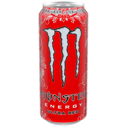 Monster Ultra Red 0,5 l