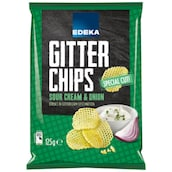 EDEKA Gitterchips Sour Cream & Onion 125 g