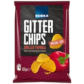EDEKA Gitterchips Grilled Paprika 125 g