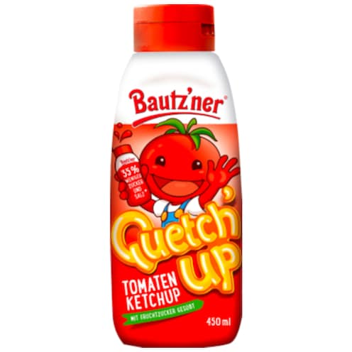 Bautz'ner Quetch' Up Tomatenketchup 450 ml