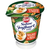 Zott Sahne-Joghurt mild Walnuss & Maple 10 % Fett 140 g