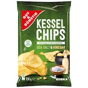 GUT&GÜNSTIG Kesselchips Sea Salt & Vinegar 150 g