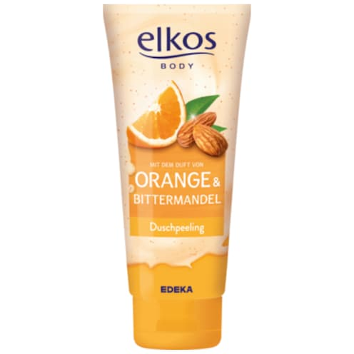 EDEKA elkos Duschpeeling Orange & Bittermandel 200 ml