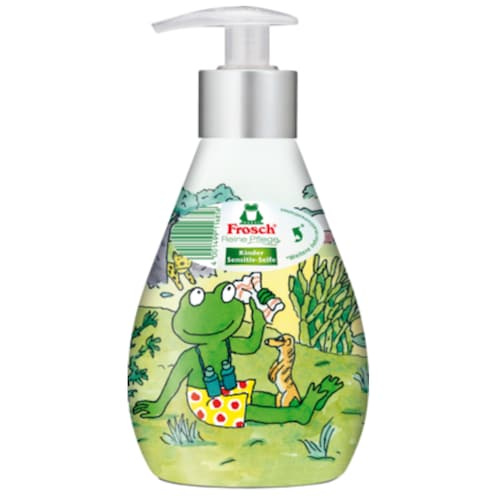 Frosch Kinder Pflegeseife Sensitive 300 ml