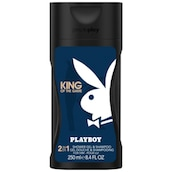 Playboy King of the Game Men 2-in1 Duschgel & Shampoo 250 ml
