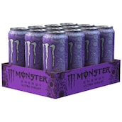 Monster Energy Ultra Violet - Tray 12 x 0,5 l