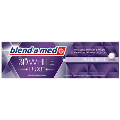 blend-a-med 3D White Luxe Pearl Shine Zahncreme 75 ml