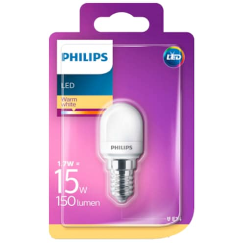 Philips LED Tropfenform 1,7 W (15 W), E14