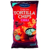 Santa Maria Tortilla Chips Chili 185 g
