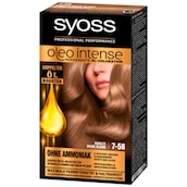 syoss Oleo Intense permanente Öl-Coloration Stufe 3 7-58 kühles beige-blond 115 ml