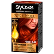 syoss Oleo Intense permanente Öl-Coloration Stufe 3 5-77 glänzendes Kupferrot 115ml
