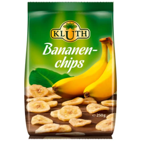 KLUTH Bananen-Chips 250 g