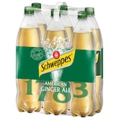 Schweppes American Ginger Ale 6 x 1,25 l