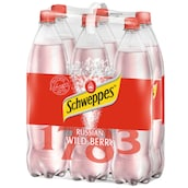 Schweppes Russian Wild Berry - 6-Pack 6 x 1,25 l