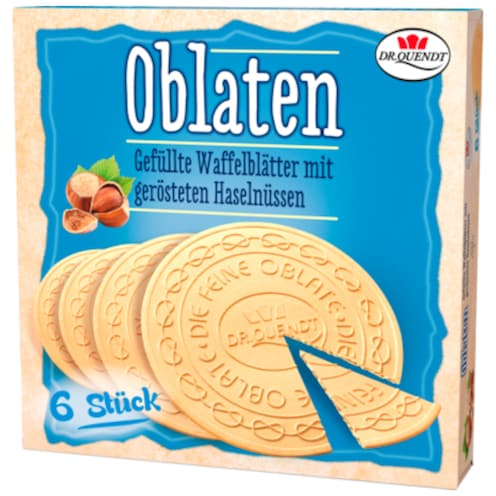 Dr.Quendt Oblaten Haselnuss 150 g