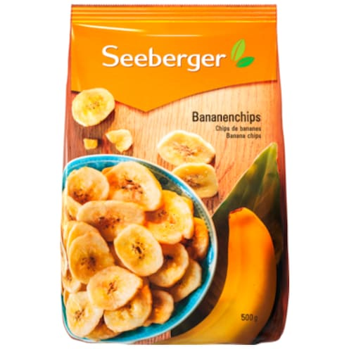 Seeberger Bananenchips 500 g
