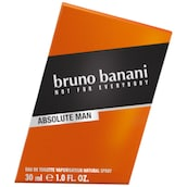 bruno banani Absolute Man Eau de Toilette Stickered 30 ml