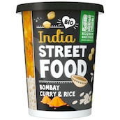 KÜCHEN BRÜDER Bio India Street Food Bombay Curry & Rice 350 g