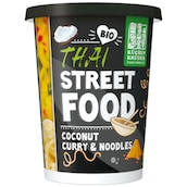 KÜCHEN BRÜDER Bio Thai Street Food Coconut Curry & Noodles 350 g