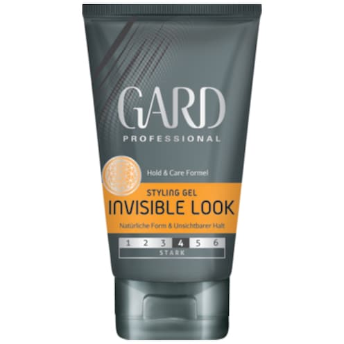 GARD Professional Styling Gel Invisible Look Stark 150 ml