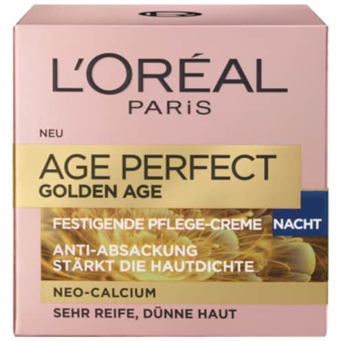L'ORÉAL Age Perfect Golden Age Festigende Pflege-Creme Nacht 50 ml