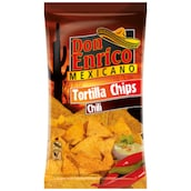Don Enrico Tortilla Chips Chili 175 g