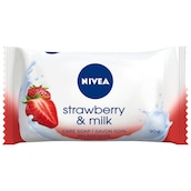 NIVEA Seife Strawberry+Milk 90 g