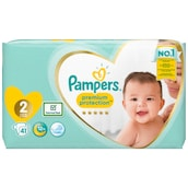 Pampers Premium Protection Midi Windeln Gr.2 4-8kg 41 Stück