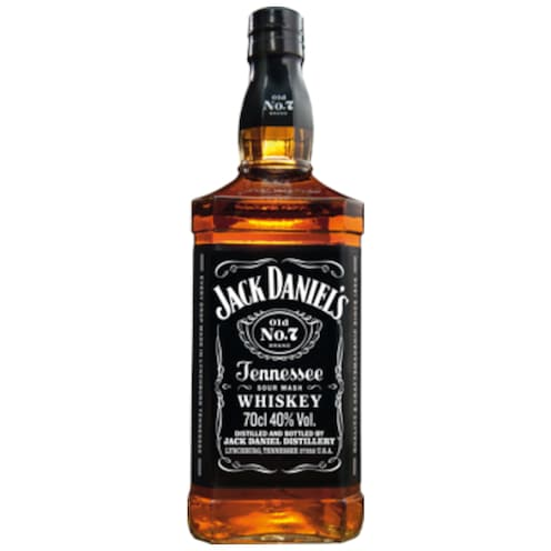 Jack Daniel's Old No. 7 Tennessee Whiskey 40 % vol. 0,7 l