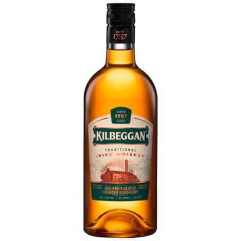Kilbeggan Traditional Irish Whiskey 40 % vol. 0,7 l