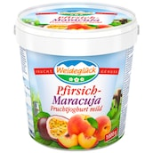 Weideglück Fruchtjoghurt mild Pfirsich-Maracuja 3,5 % Fett 1 kg
