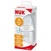 NUK First Choice+ Babyflasche Silicone S 0-6m 150ml